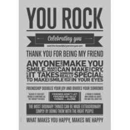 You rock, grå