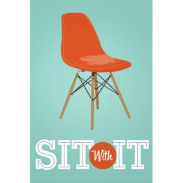 Sit with it, A3 plakat