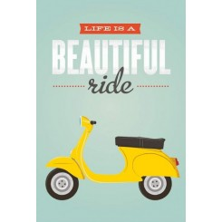 Beautiful ride, A3 plakat