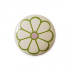 Knop midi, grøn blomst