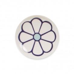 Knop midi, lila blomst