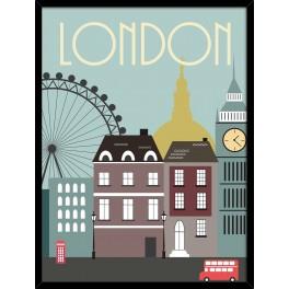 London plakat