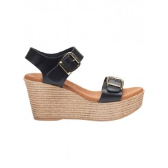 Susanne sandal, Black - Sort