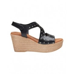 Masha stud sandal, Black - Sort