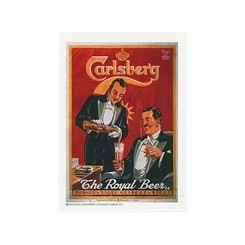 Carlsberg, the royal beer